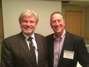 Robert Lynch, Americans for the Arts CEO with Foundation for Art & Healing founder and president, Dr. Jeremy Nobel